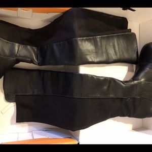 UNISA KNEE HIGH FITTED BOOTS